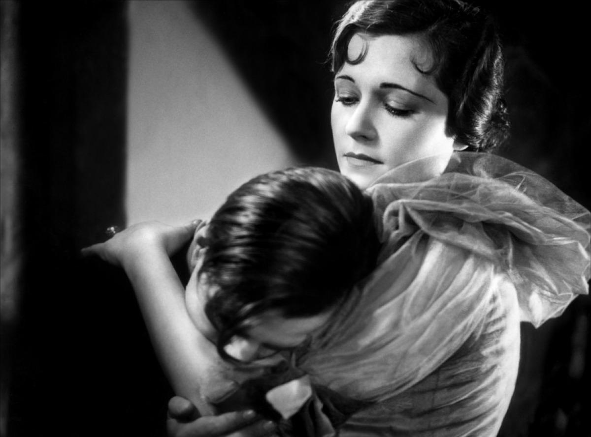 Paul Hörbiger and Olga Tschechowa in Liebelei (Flirtation/Playing at Love, 1933)